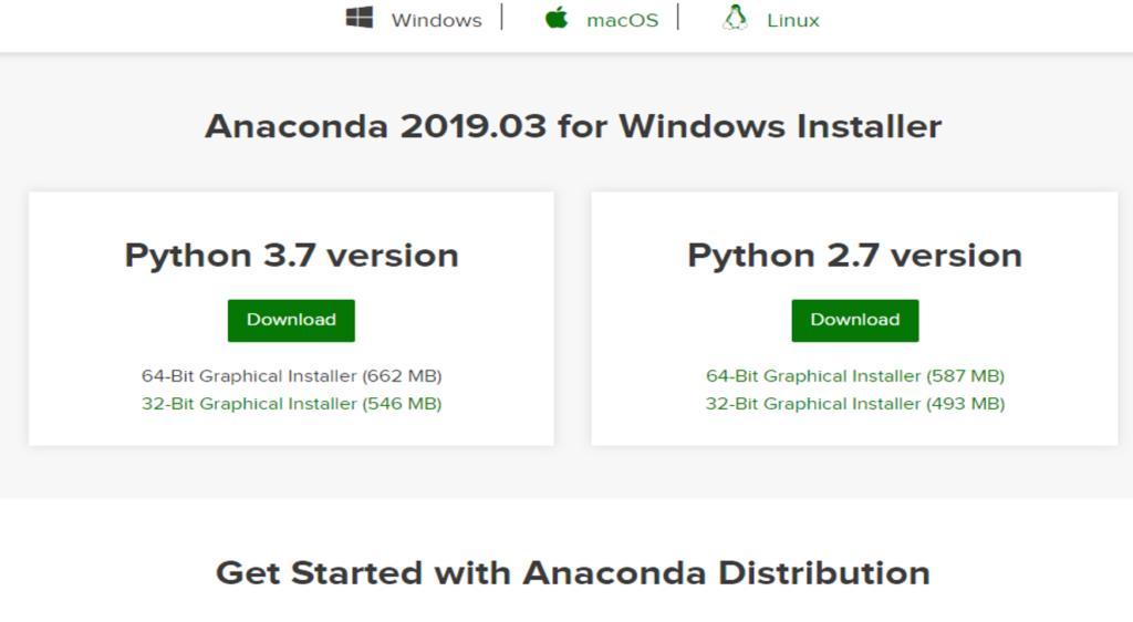 Anaconda Download Mac Os